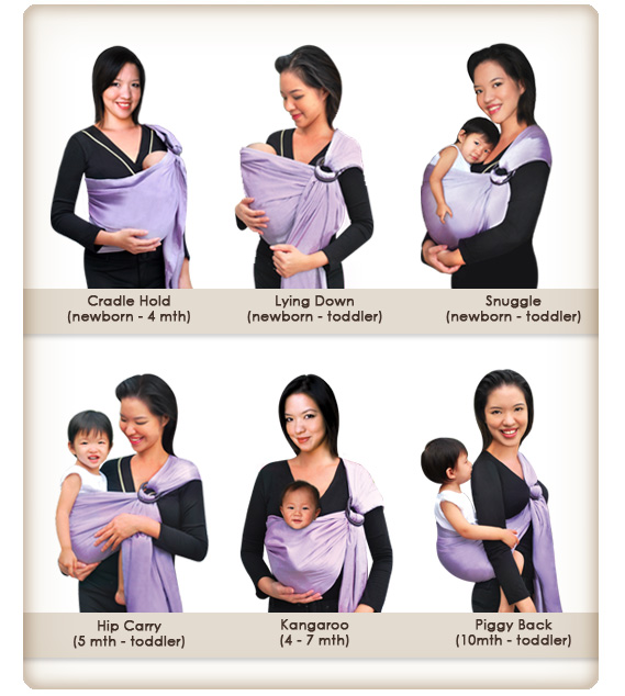 types of baby wraps