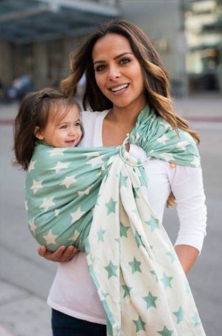 how to carry baby in ring sling